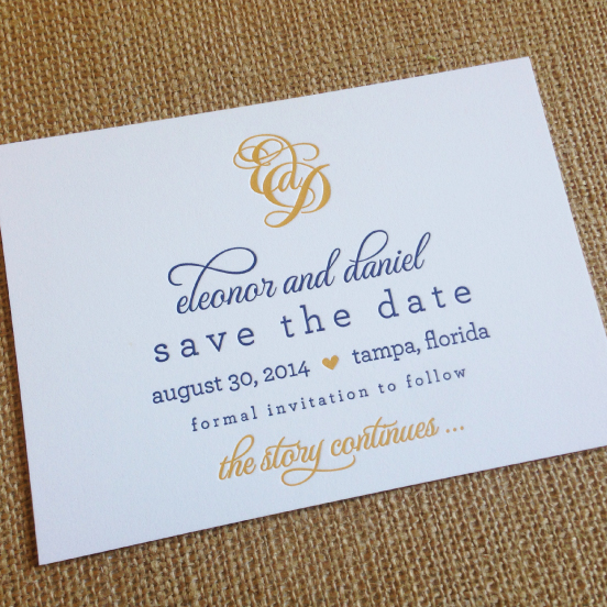 Custom Save the Date Cards