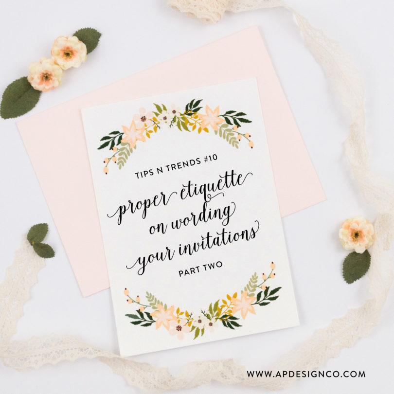 Wedding Invitation Text Ideas: Wedding Invitation Wording Ideas