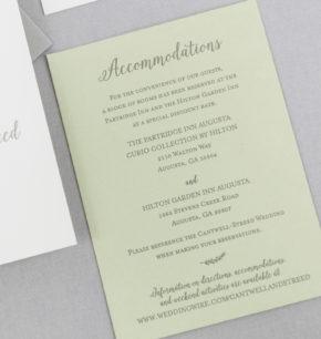 Fall Inspired Wedding Invitations