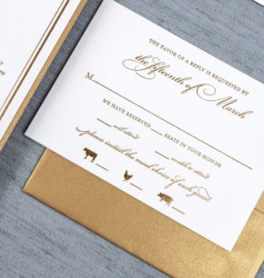 Elegant Royal Wedding Invitations