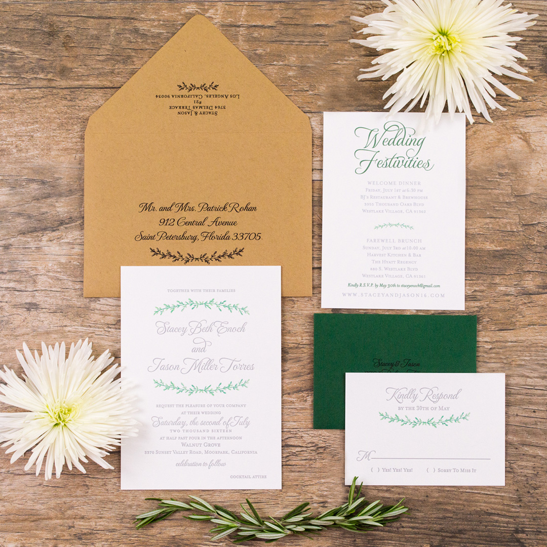 Top 10 Wedding Stationery Trends For 2017 Letterpress Invitations