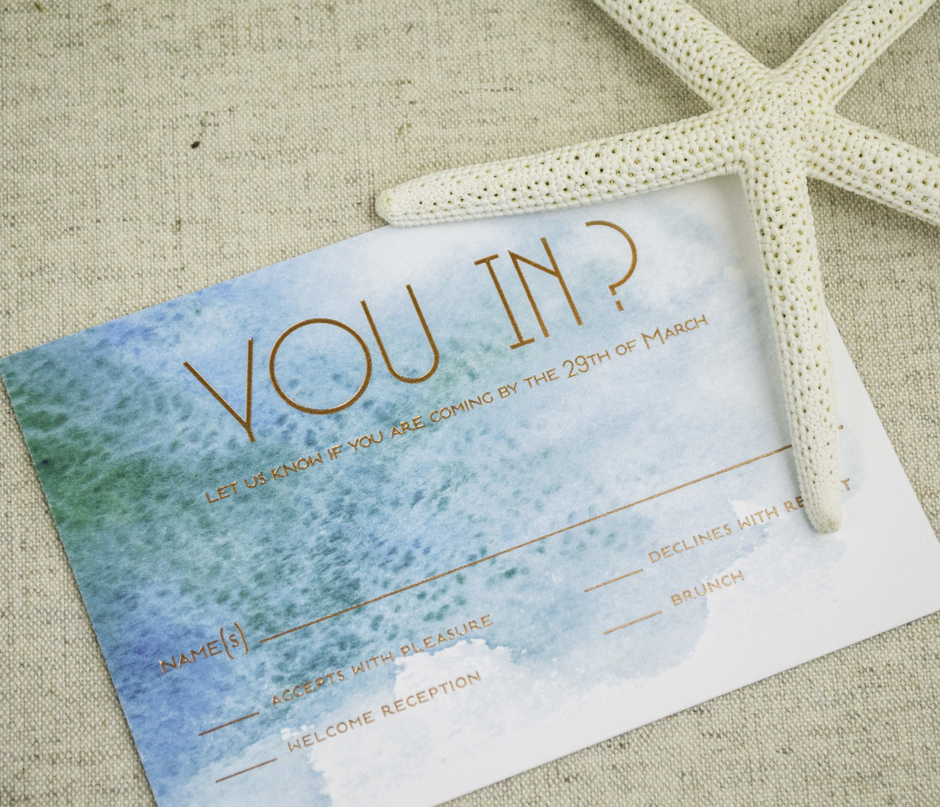 modern beach themed wedding invitations a p designs