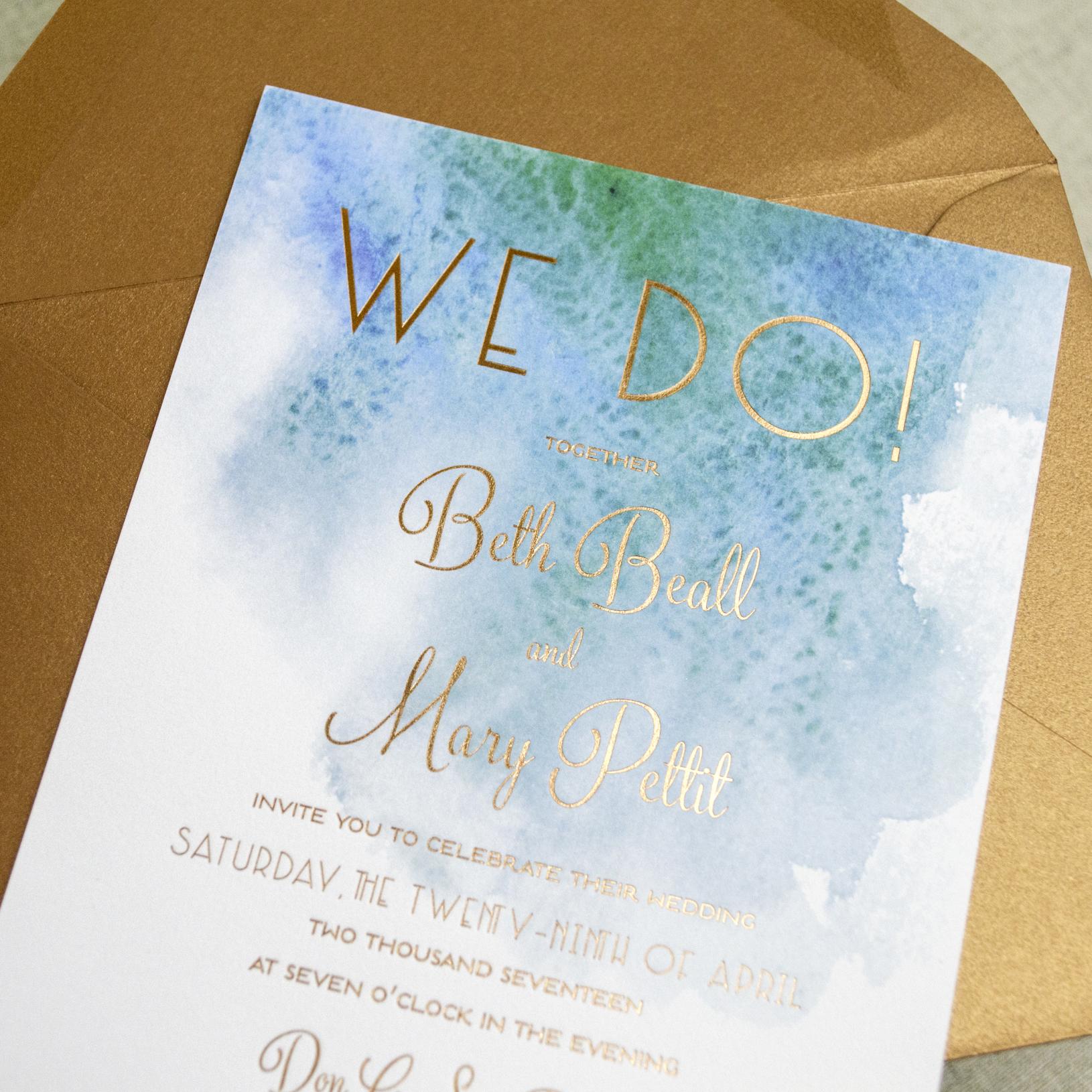 modern beach themed wedding invitations a p designs
