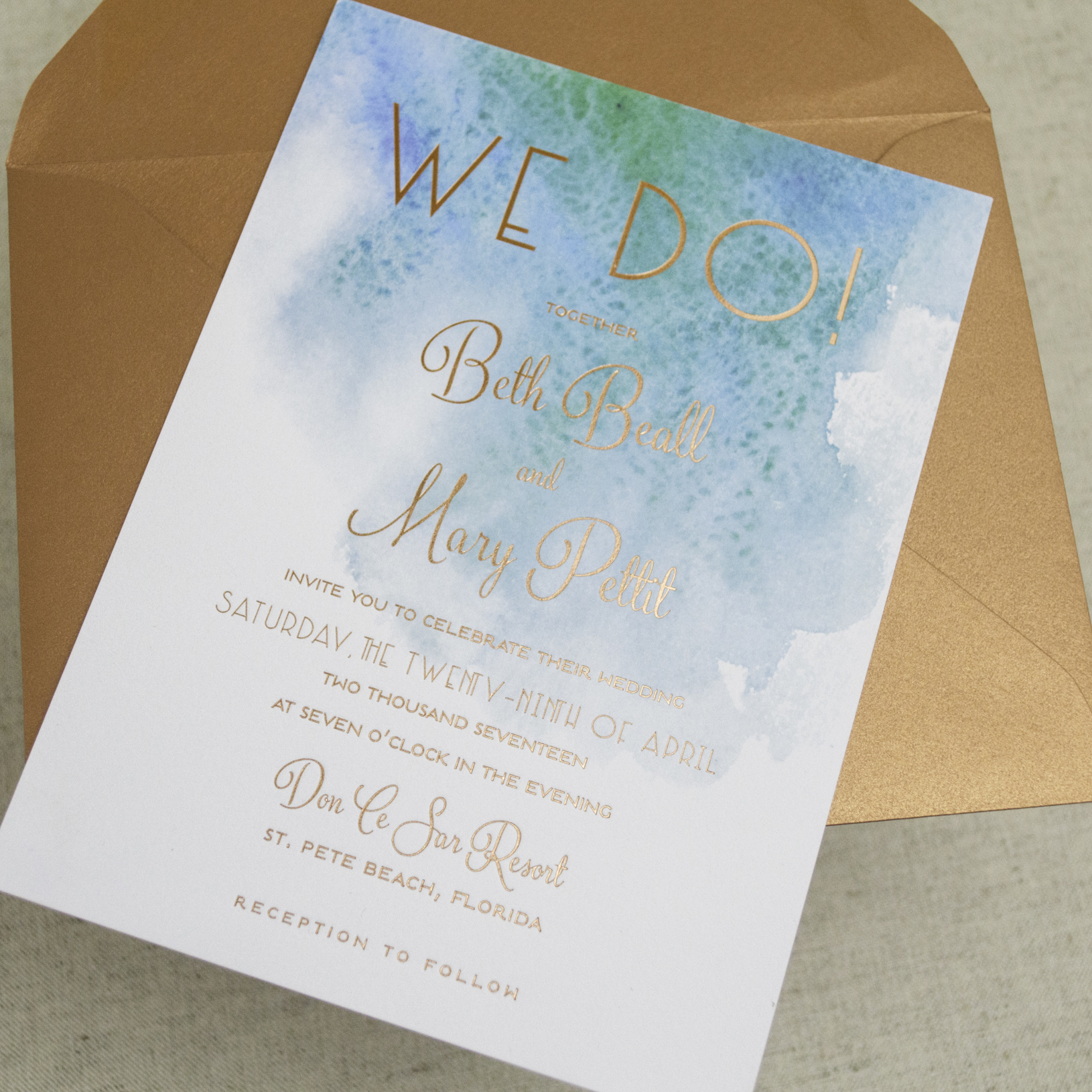 We Just Love The Way These Wedding Invitations Feature A Unique Beach Themed Design For Modern Seaside Soiree